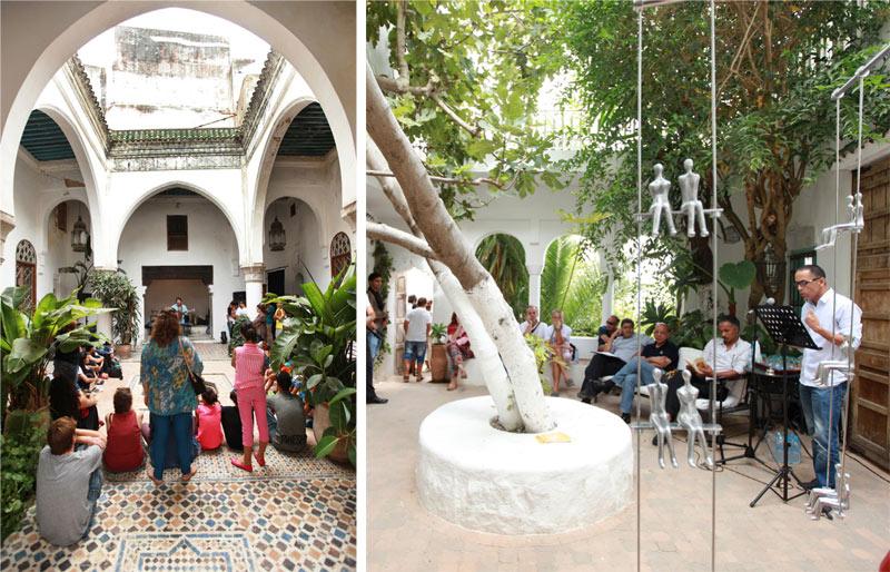 Parcours artistique Tanger 2014: La ville du détroit revisite son patrimoine architectural