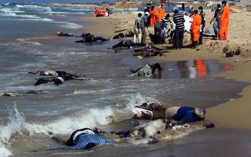 3.072 migrants ont péri  en Méditerranée en 2014