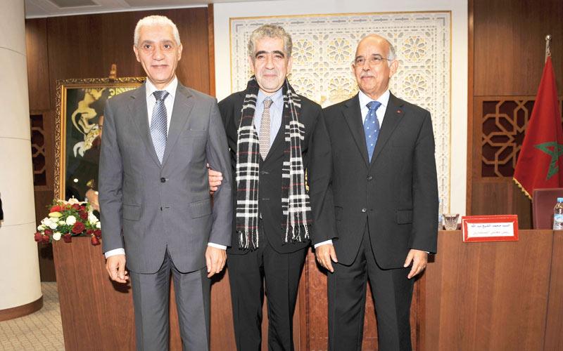 Intégration de l'approche des droits de l'Homme  en matière de législation: Talbi, Biadillah et Yazami font équipe