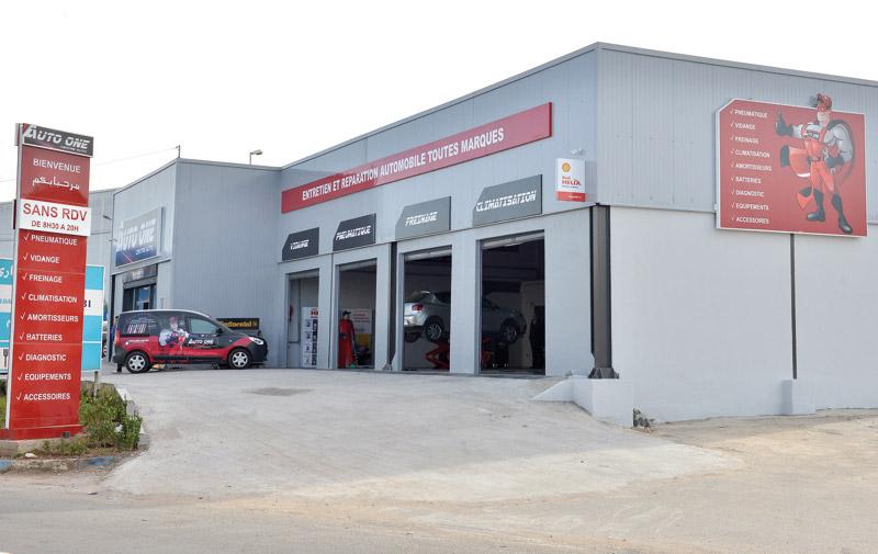 Auto One : Un premier centre à Casablanca