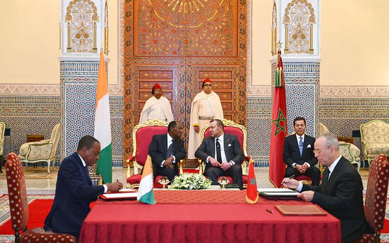 Le Maroc et la Côte d'Ivoire s'allient sur plusieurs fronts: 16 conventions ratifiées à Marrakech