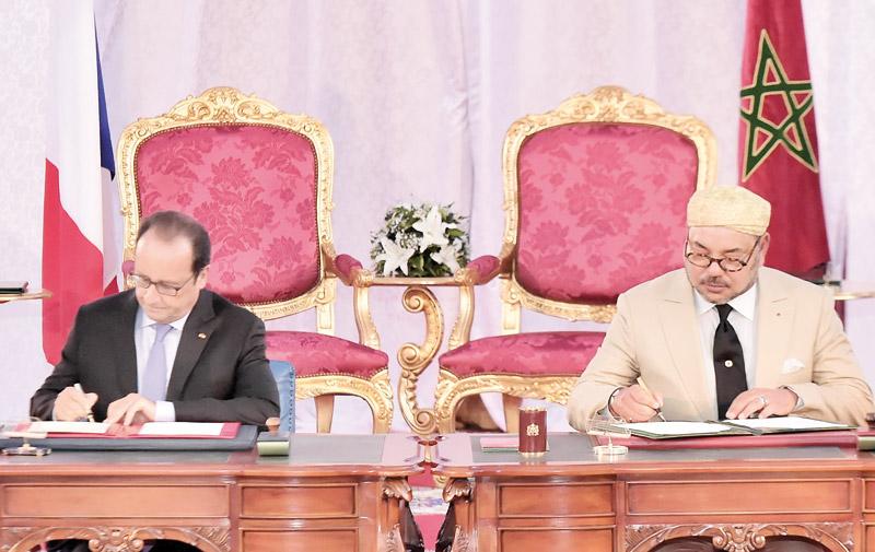 Pour une action solidaire et forte en faveur du climat: SM le Roi et le président français lancent l'Appel de Tanger