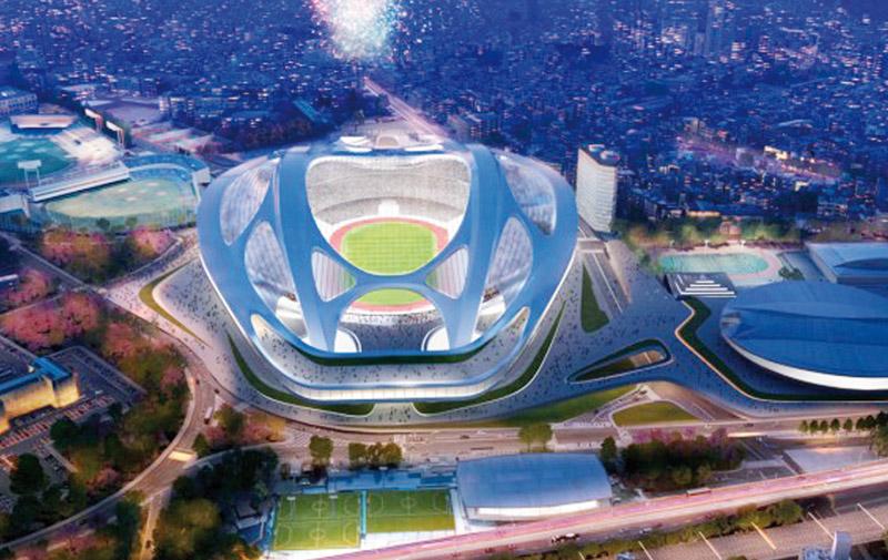 Le stade de Tokyo à nouveau réévalué