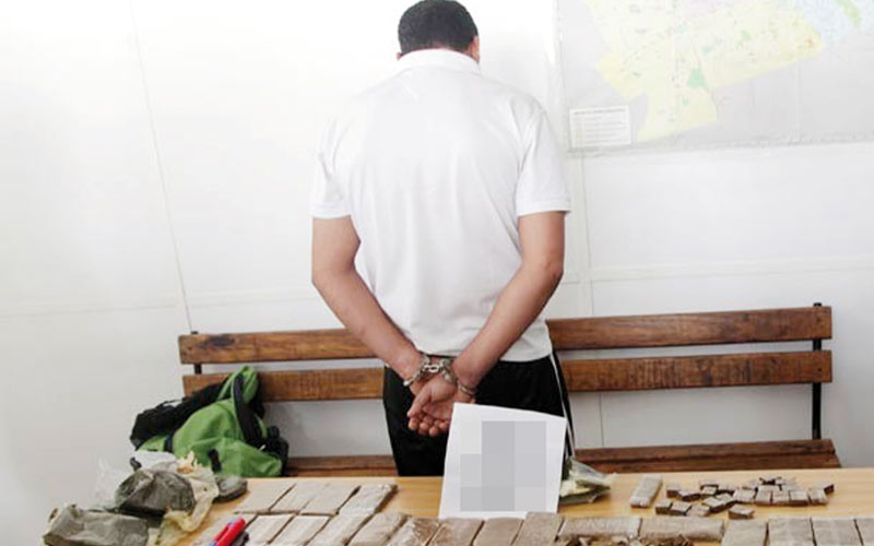 Azemmour : Un trafiquant de drogue sous les verrous