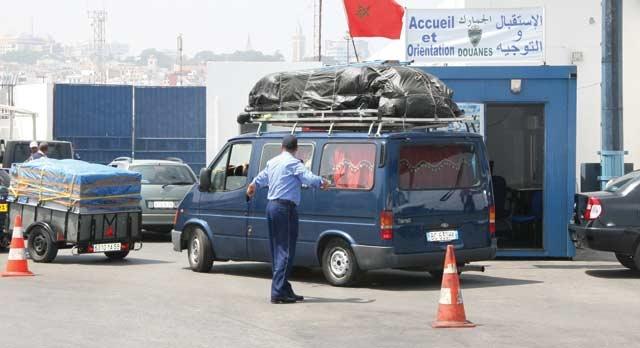 MRE :  La douane  à votre service !