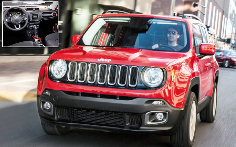 jeep renegade elle est l aujourd 39 hui le maroc. Black Bedroom Furniture Sets. Home Design Ideas