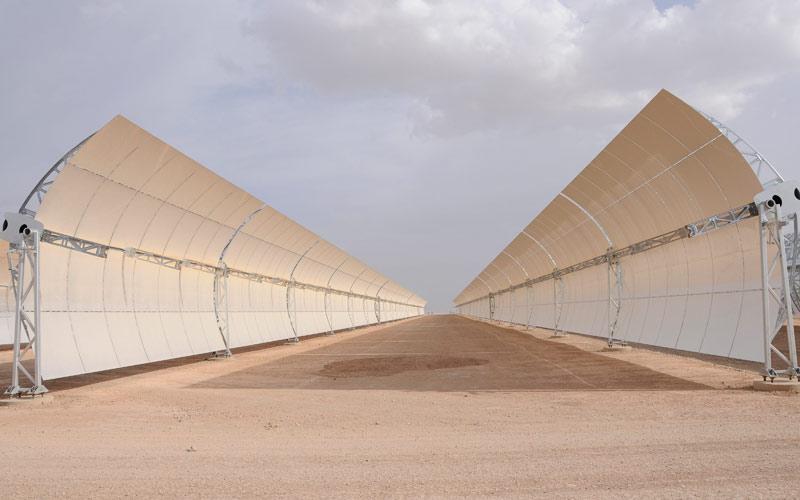 Retrospective 2014 – Projet Noor: Les centrales solaires du Maroc commencent à sortir de terre