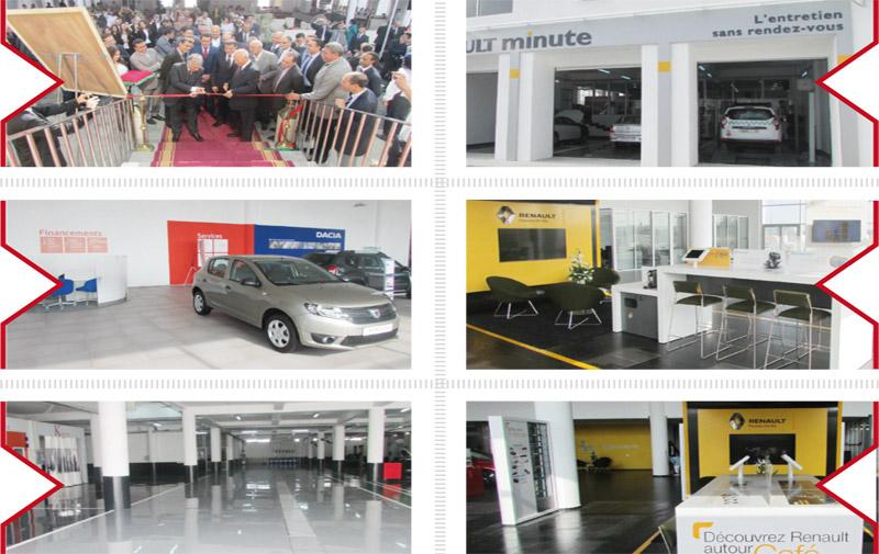 Renault-Dacia/ Un showroom brand new à Kénitra