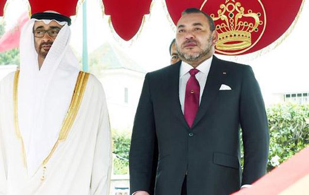 SM le Roi en visite aux Emirats Arabes Unis