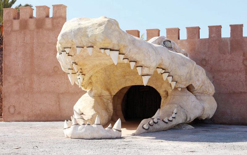 Un Crocoparc à Agadir