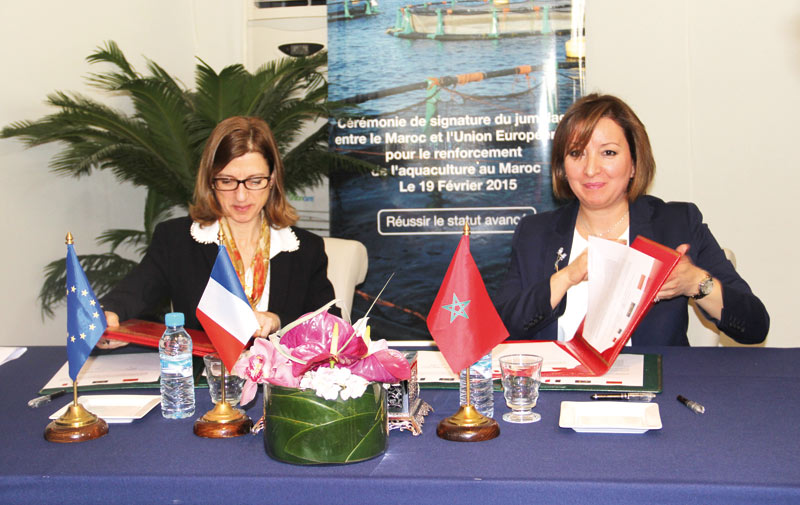 Aquaculture: Un projet de jumelage UE-Maroc est lancé