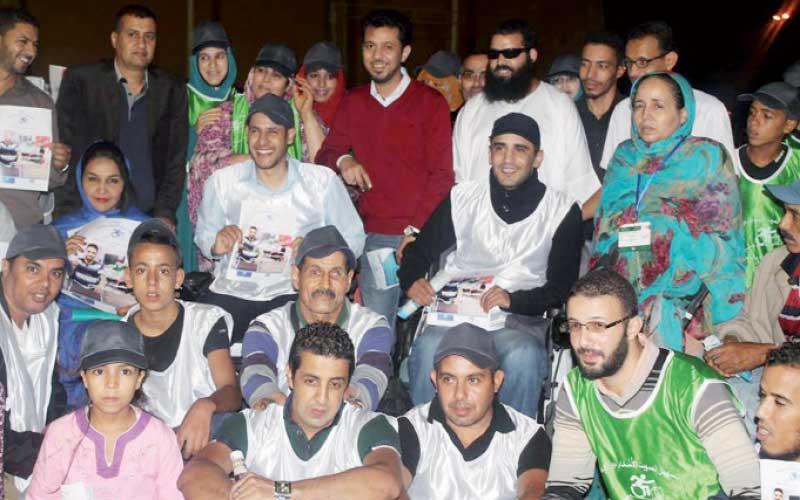 Laâyoune : Les handicapés sensibilisés à la participation  au scrutin du 4 septembre