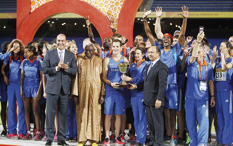 Coupe intercontinentale d'athlétisme à Marrakech : L'Europe, championne  des cinq continents