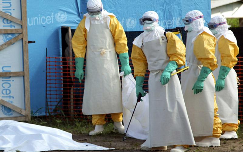 Ebola : 124 nouveaux cas en une semaine, première flambée en 2015