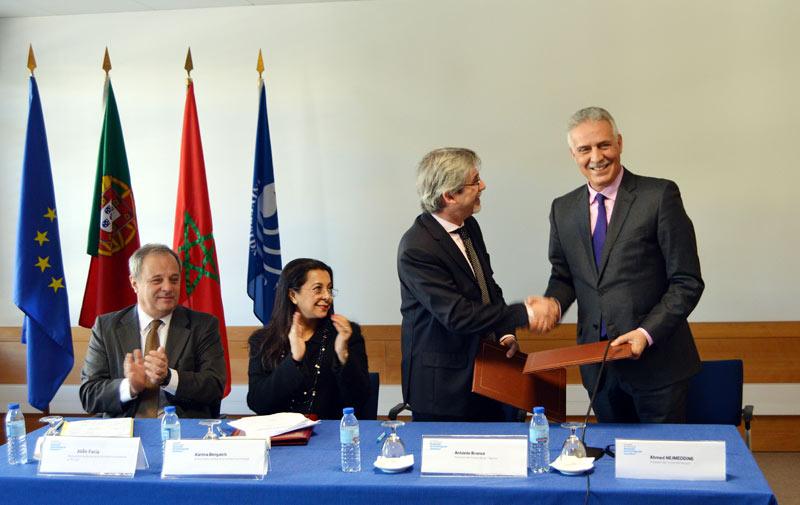 Formation : Partenariat universitaire maroco-portugais