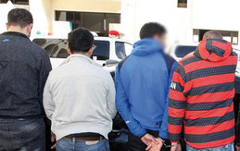Casablanca : Quatre malfrats sous les verrous