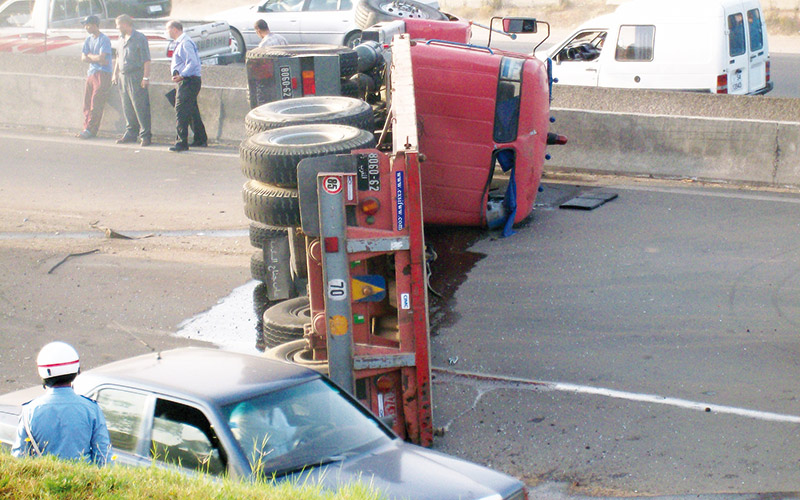 16 blessés dans un accident à Beni Mellal