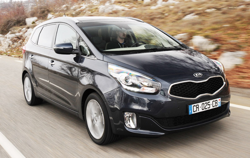 Kia Carens: Spacy et spicy !