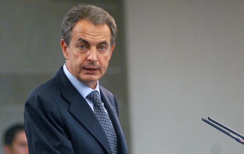 Zapatero à l'Université internationale de Casablanca