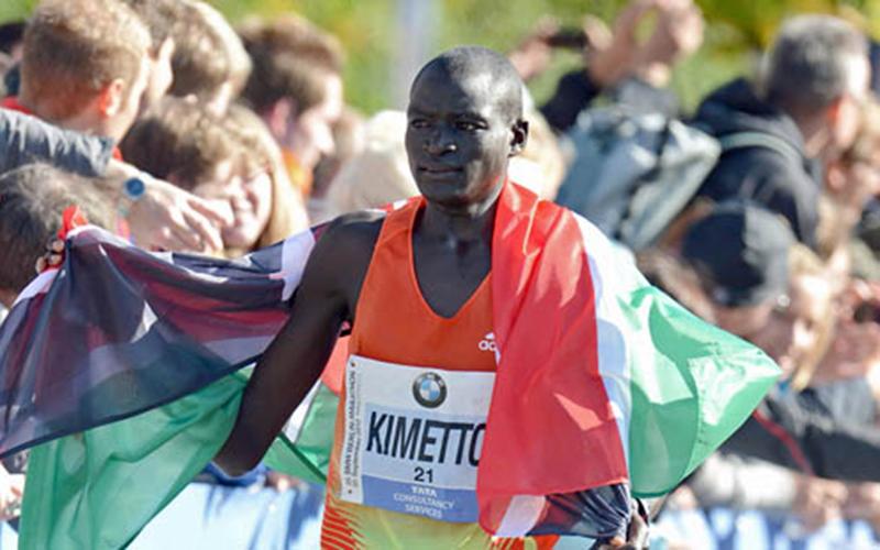 Dennis Kimetto  bat le record u monde du marathon