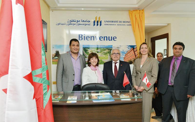 L'Université de Moncton à la conquête du Maroc
