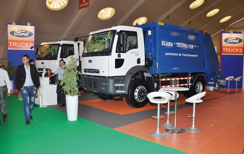 Auto Hall au Pollutec: La fibre verte  de Ford Maroc