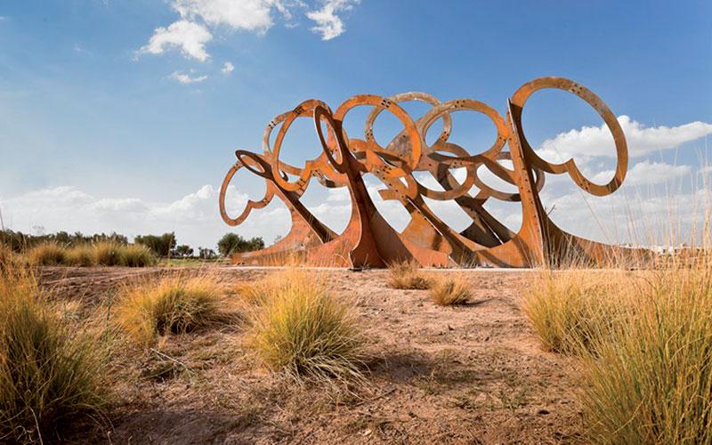 Consécration pour le Parc  de sculptures Al Maaden