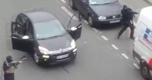 Charlie Hebdo : les présumés auteurs de l'attentat localisés dans le nord de la France