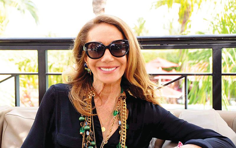 Un café avec…Marisa Berenson, ambassadrice des Sofitel So Spa