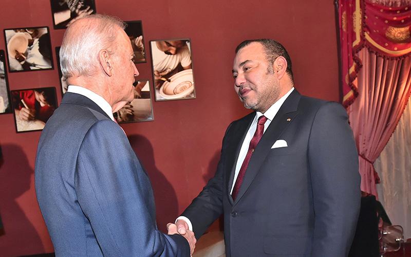 Fès : SM le Roi reçoit Joe Biden