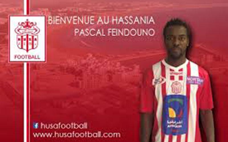 Transfert : Pascal Feindounou signe au Hassania d'Agadir