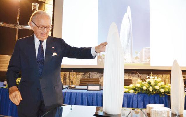 Retrospective 2014 – Nouveau siège de BMCE à CFC: Une vraie fusée