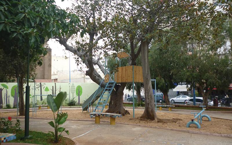 Roches Noires : Le jardin Al Qods réaménagé