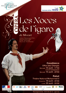 L'OPM célèbre «Les Noces de Figaro»