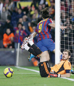 Championnat d'Espagne : le Barça remporte le derby