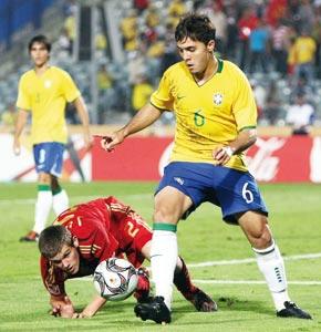 Maicon envoie le Brésil en demi-finale