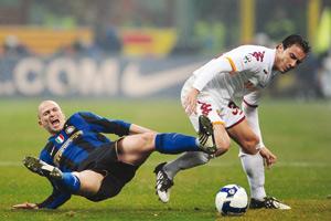 L'Inter s'en sort in extremis face à la Roma