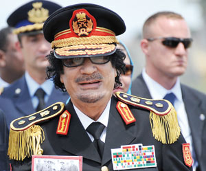Le colonel Kadhafi sacrifie le Maroc au profit du Polisario