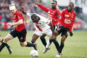 Rennes prend la deuxième place