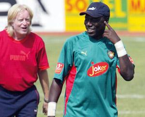 Nkono sélectionneur intérimaire du Cameroun