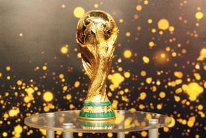 Le Trophée de la Coupe du monde à Casablanca