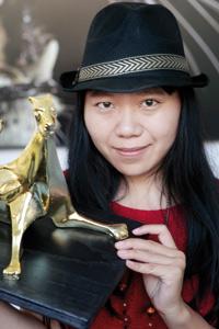 La réalisatrice chinoise Xiaolu reçoit le Léopard d'or
