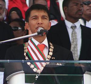 Andry Rajoelina face à l'urgence de redresser la situation du pays