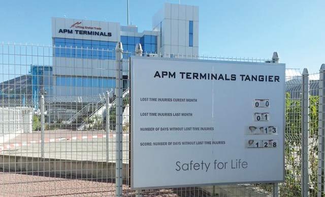 APM Terminals Tangier poursuit son engagement en matière de sécurité au travail