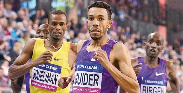 Circuit mondial en salle: Iguider signe la MPM du 1500 m à Glasgow