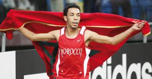 Abdelati Iguider offre la première médaille