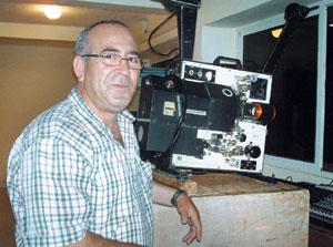 Abdelhakim : Profession projectionniste