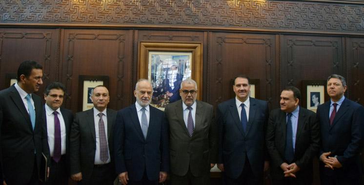 Benkirane s'entretient avec le Chef de la diplomatie irakienne