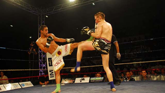 Kick-boxing: Le Franco-marocain Abdellah Ezbiri, champion du monde ISKA à Lyon
