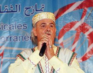 Hommage au chanteur de l'Aïta Al Jabalia, Abdelmalek Andaloussi